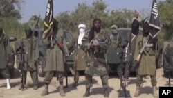 Wanamgambo wa kundi la Boko Haram la nchini Nigeria