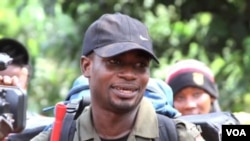"""Dziedzorm """"Jay Jay"""" Segbefia from Ghana is one of the participants in the 2014 Young African Leaders Fellowship. (VOA)"""