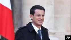 PM Perancis Manuel Valls (Foto: dok).