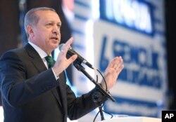 Prezident Rajab Toyyip Erdog'an