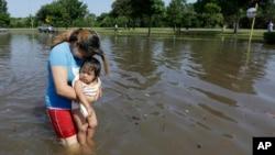 Poplave u Hjustonu, u Teksasu