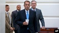Boehner dijo en reiteradas ocasiones que bajo su liderazgo en la Cámara no pretendía cerrar el gobierno.