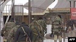 Спецназ ГРУ РФ проводит спецоперации в горах Кабардино-Балкарии. Северный Кавказ. Россия. 19 февраля 2011 года