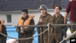 Harry Styles on Dunkirk Film Set - 7/28/16