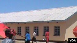 One of the classrooms handed over to the local community by Delta Corporation. (Photo: VOA)