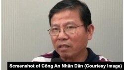 Châu Văn Khảm, một thành viên Việt Tân, vừa bị công an Việt Nam bắt giữ. (Ảnh chụp màn hình Công An Nhân Dân)