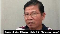 Ông Châu Văn Khảm (ảnh chụp màn hình Công An Nhân Dân)