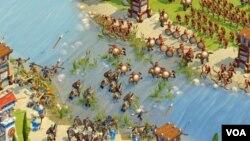 Las guerras llegan a alcanzar proporciones épicas, sobre todo jugando contra amigos.