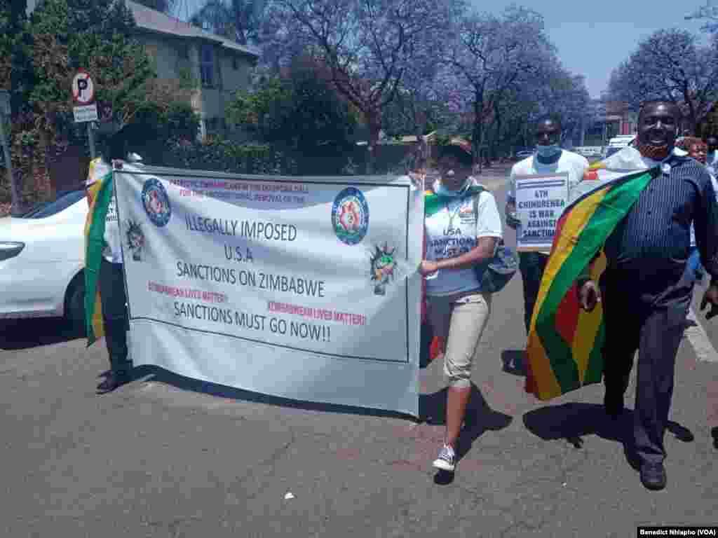 Anti-Sanctions protest
