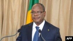 Mali President Ibrahim Boubacar Keita delivers a speech on Oct. 2, 2013. in Bamako.