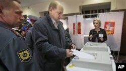 Голосование в Химках, 14 октября 2012г.