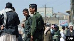 Jemenska policija na jednom kontrolnom punktu u Sani