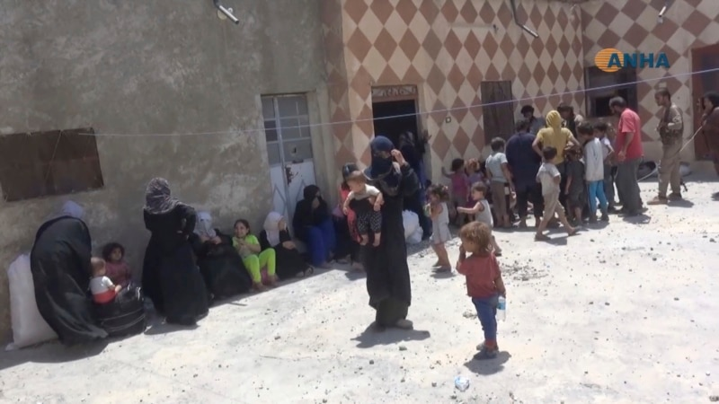 فڕۆکەکانی هاوپەیمانان کۆتا شوێنی ڕێکخراوی داعش لە ڕۆژهەڵاتی سوریا بۆردومان دەکەن