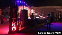 La scène du FITMO, à Ouagadougou, le 3 novembre 2019. (VOA/Lamine Traoré)