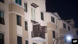 حادثے کا شکار ہونے والی عمارت