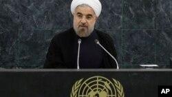 El mandatario de Irán, Hasán Rohani, sostuvo que su país no es una amenaza para el mundo.