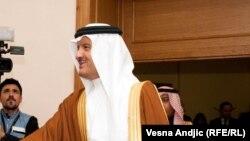 Prince of Saudi Arabia and Aleksandar Vucic