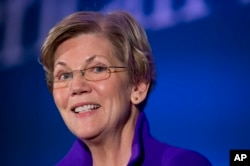 FILE - Sen. Elizabeth Warren, D-Mass.