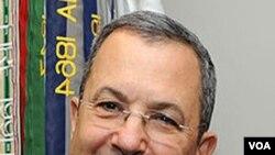 Menteri Pertahanan Israel, Ehud Barak berkunjung ke Gedung Putih, 26 April 2010.