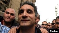 Người dẫn chương trình truyền hình châm biếm Bassem Youssef