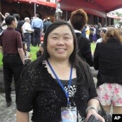 華裔美國人劉炯玲女士