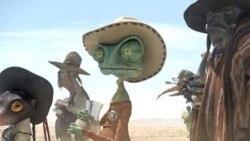 جانی دپ در نقش کلانتر فیلم انیمیشن تازه «رنگو»