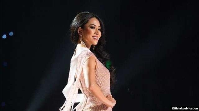 ျမန္မာမယ္စၾကာ၀ဠာ ေမဘရဏီေသာ္ (Photo- Miss Universe Organization)