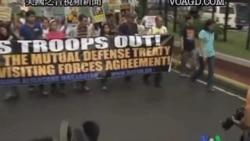 2011-11-15 美國之音視頻新聞: 國務卿訪問菲律賓 南中國海爭端將佔主導