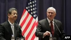 Ministri odbrane Japana i SAD na konferenciji za novinare