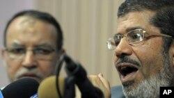 Tsohon shugaban Masar. Mohammed Morsi