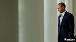 Prezident Obama gumanitar halokat bilan yuzlashib turibmiz, deydi.