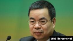 全国人大法工委副主任、基本法委员会副主任张荣顺(苹果日报图片)