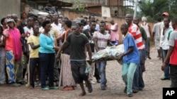 Budžumburi, Burundi 12. decembar 2015.