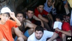 Para pencari suaka ke Australia biasanya dikirim ke pusat-pusat penahanan yang tidak manusiawi di Papua Nugini atau Nauru (foto: dok).