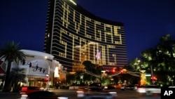 Banyak bisnis di kota judi Las Vegas, Nevada harus tutup selama pandemi Covid-19 (foto: dok).