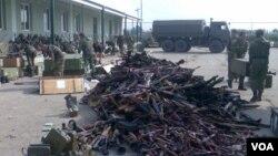 ქართული სამხედრო ბაზის ძარცვა 2008 წლის აგვისტო