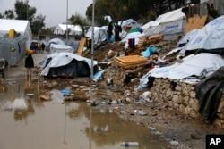 Moria mülteci kampı