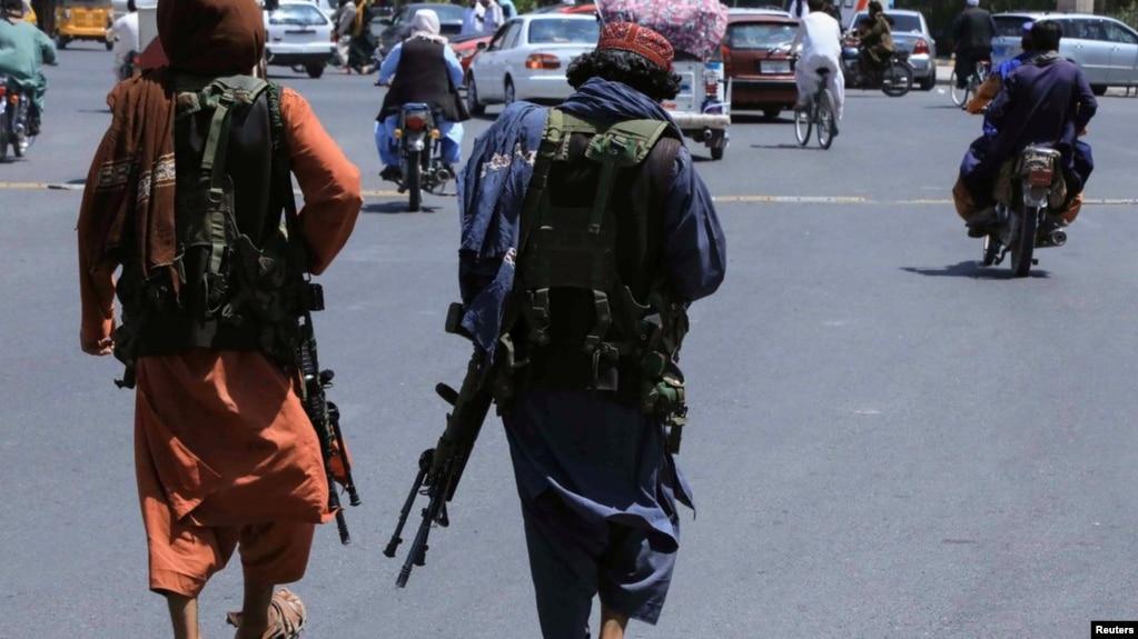 塔利班进入阿富汗首都喀布尔