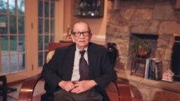 Cựu Đại Sứ Bùi Diễm. (Hình: Jimmy TV)