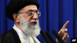 Iran'ın dini lideri Ayetullah Ali Hamaney