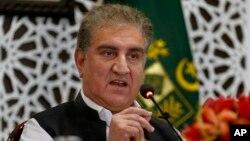 شاه محمود قریشي د پاکستان د بهرنیو چارو وزیر