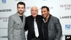 "FILE - In this April 28, 2016 file photo, actor Jack Whitehall, from left, director Garry Marshall and actor Aasif Mandvi attend the special screening of ""Mother's Day"" at Metrograph, in New York. Writer-director Marshall, whose TV hits included ""Happy Days"" ""Laverne & Shirley"" and box-office successes included ""Pretty Woman"" and ""Runaway Bride,"" has died at age 81."