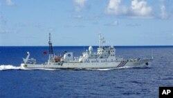 Một tàu hải giám Trung Quốc trong vùng biển Hoa Đông.