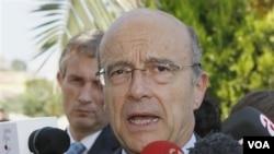 Menlu Perancis Alain Juppe berharap pemerintah Tiongkok bersedia mngupayakan nilai Yuan yang lebih kuat.