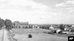 The buildings used to house internees are still standing today, and serve as classrooms and dorms for United Tribes Technical College.