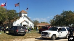 Church Shooting Texas Nov 5, 2017