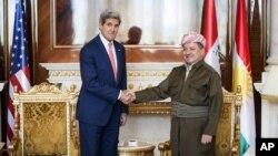 Джон Керри и Масуд Барзани.