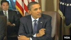 Predsjednik Barack Obama tokom razgovora u Bijeloj kući sa kongresnim liderima