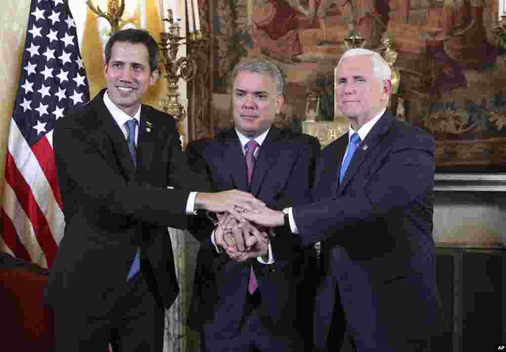 مایک پنس معاون رئیس جمهوری آمریکا گفت ما به حمایت خود از مردم ونزوئلا و تلاششان برای رسیدن به آزادی، ادامه میدهیم