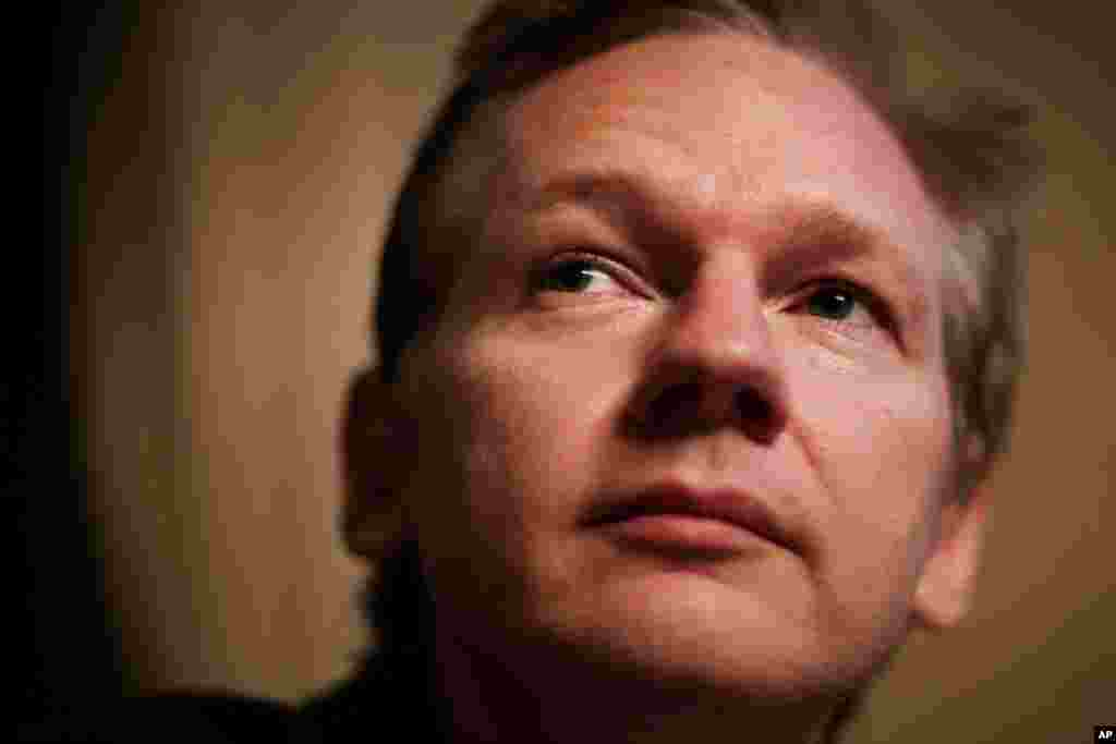 Julian Assange, founder of WikiLeaks, pictured November 4. Police ratcheted up the pressure on Assange this week, asking European officers to arrest him on rape charges as his organization continued to embarrass the Obama adminstration with a stream of le